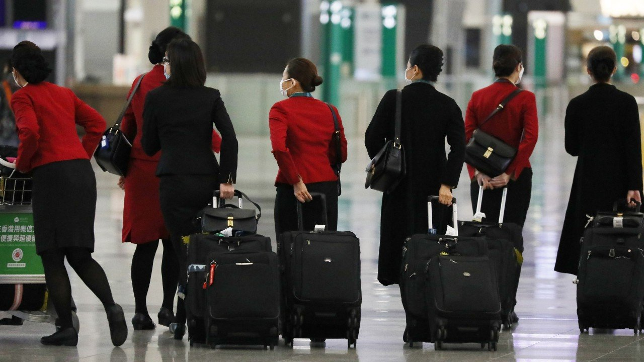 Hong Kong fourth wave: airline sector braces for impact as city mulls 14-day quarantine for aircrew amid coronavirus pandemic