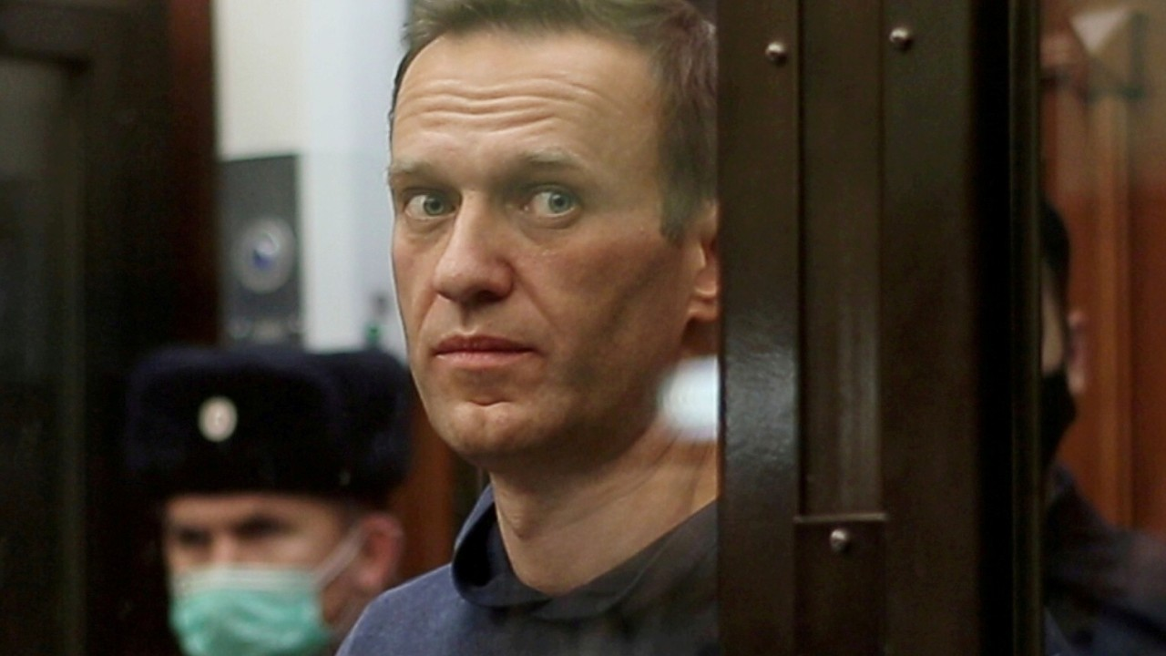Russian opposition leader Alexei Navalny sent to prison outside Moscow