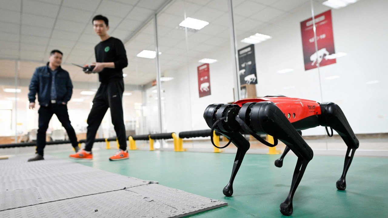 Robot AlphaDog combines China's two loves: pets and technology
