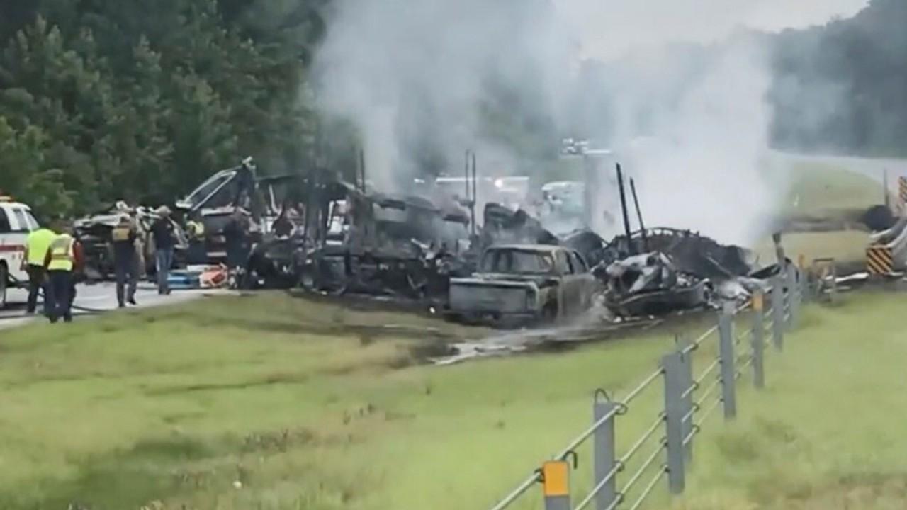 Horror US road crash leaves 9 children dead