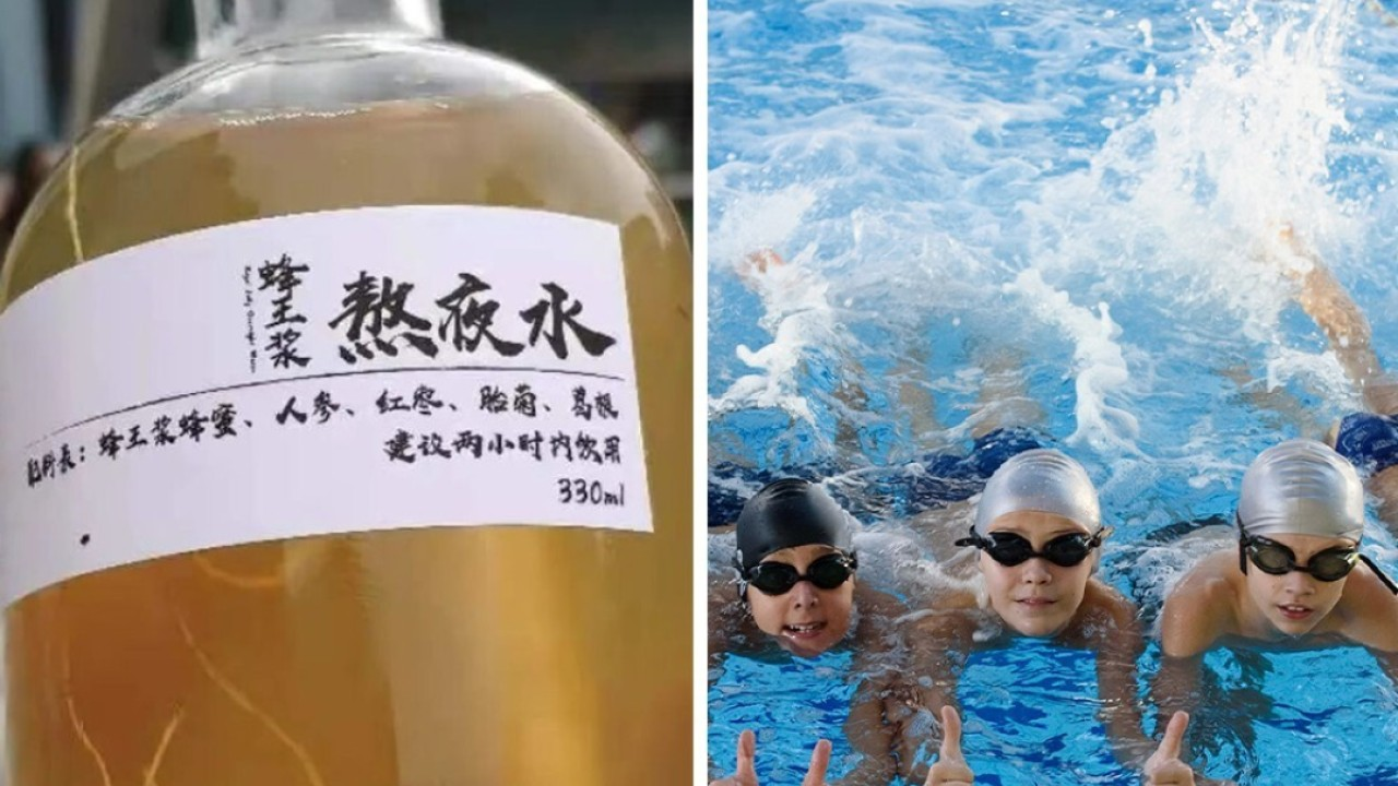 Quirky China: A pool in hot water, Traditional Chinese Medicine to keep people awake and throwing a bathtub from height