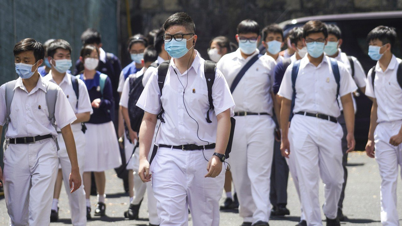Coronavirus Hong Kong: full-day classes expected to resume by September if enough students, teachers vaccinated