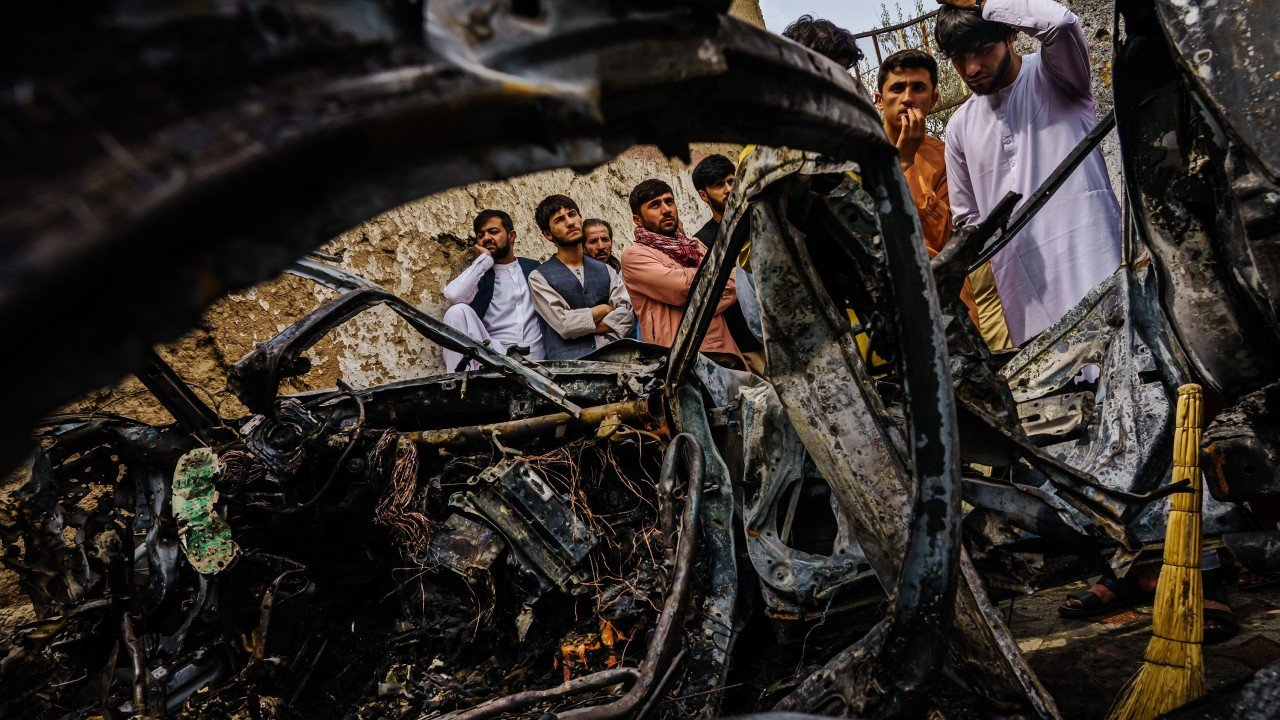 Afghanistan: Pentagon admits deadly Kabul strike killed 10 civilians, not Islamic State extremist