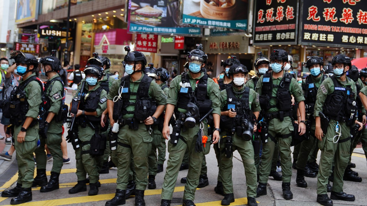 Hong Kong police will deploy up to 6,000 officers for Election Committee polls