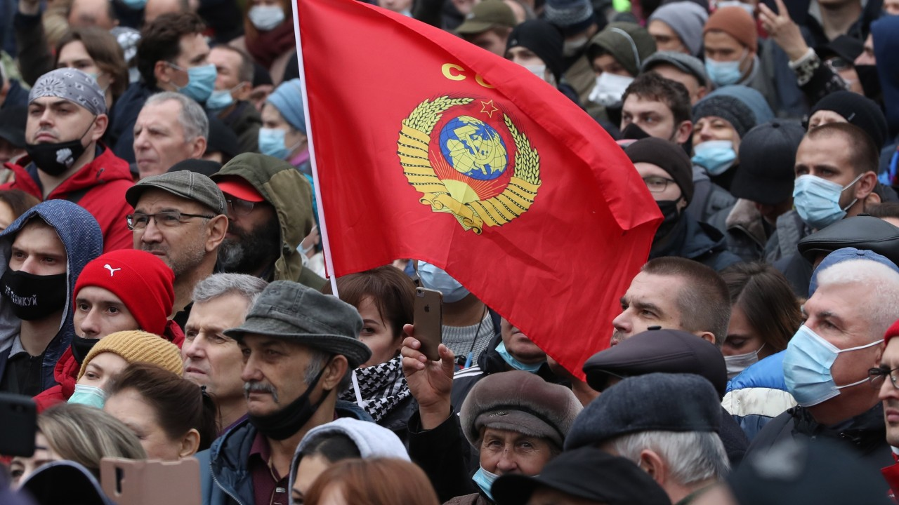 Hundreds gather in Moscow to protest against alleged online election tampering