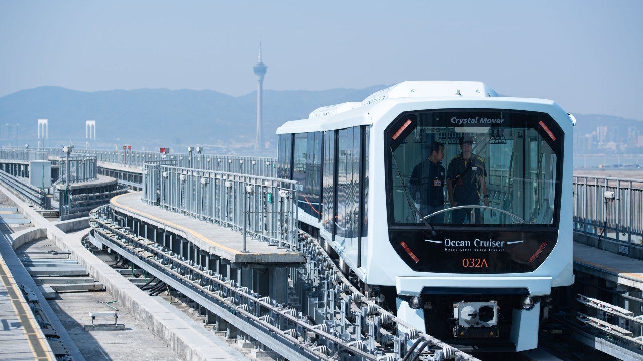 Macau authorities suspend services on MTR Corp's Taipa line for 180 days to replace faulty cables