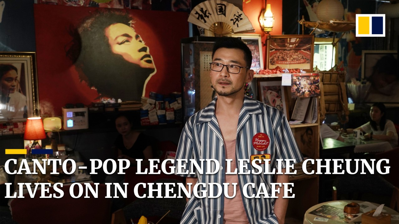 Leslie Cheung cafe in Chengdu, China ensures legacy of Canto-pop and film star lives on