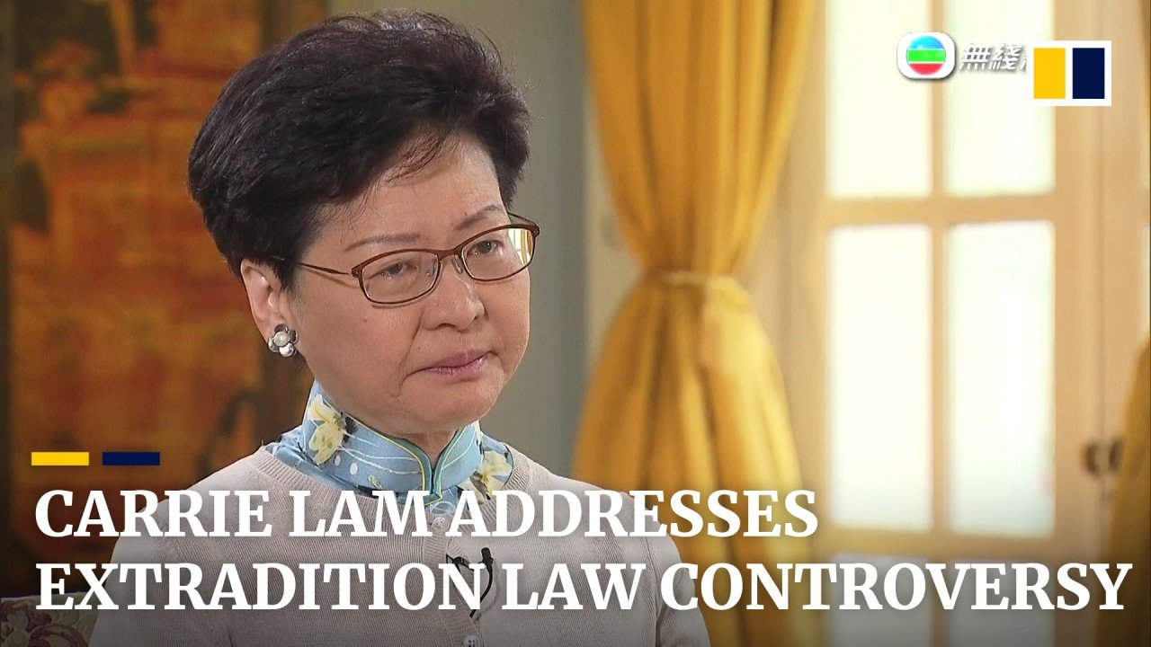 If Hong Kong has a mother in Carrie Lam, why is she avoiding her children?
