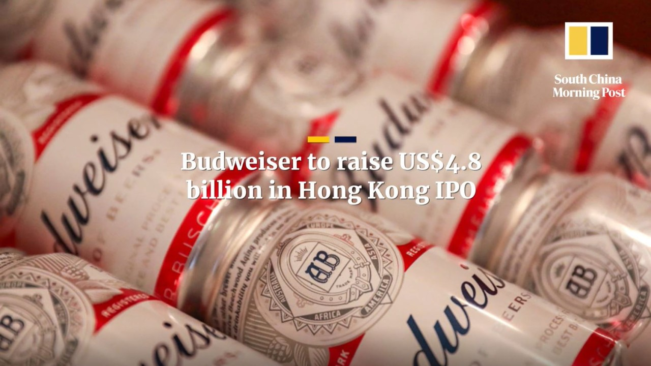 Budweiser to raise US$4.8 billion in Hong Kong IPO, adds Singapore sovereign wealth fund GIC as investor
