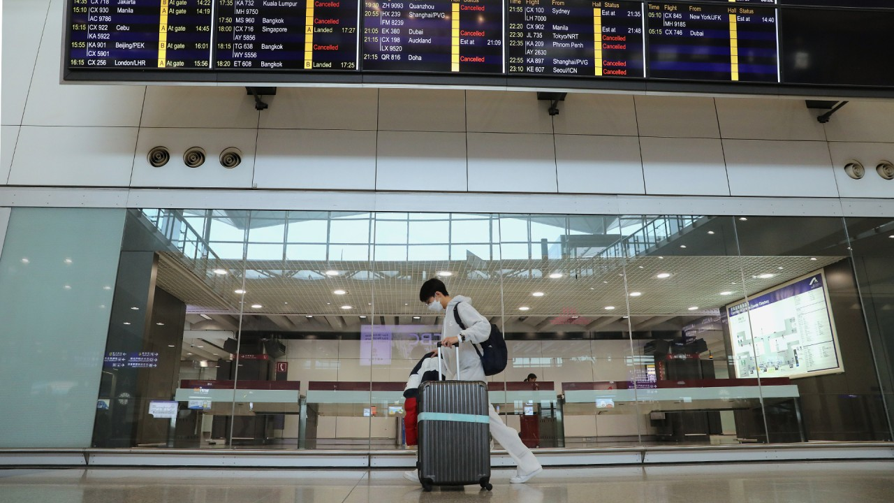 Coronavirus: airport service firms call on Hong Kong to follow Singapore in covering wages of aviation workers, warning of further job loss