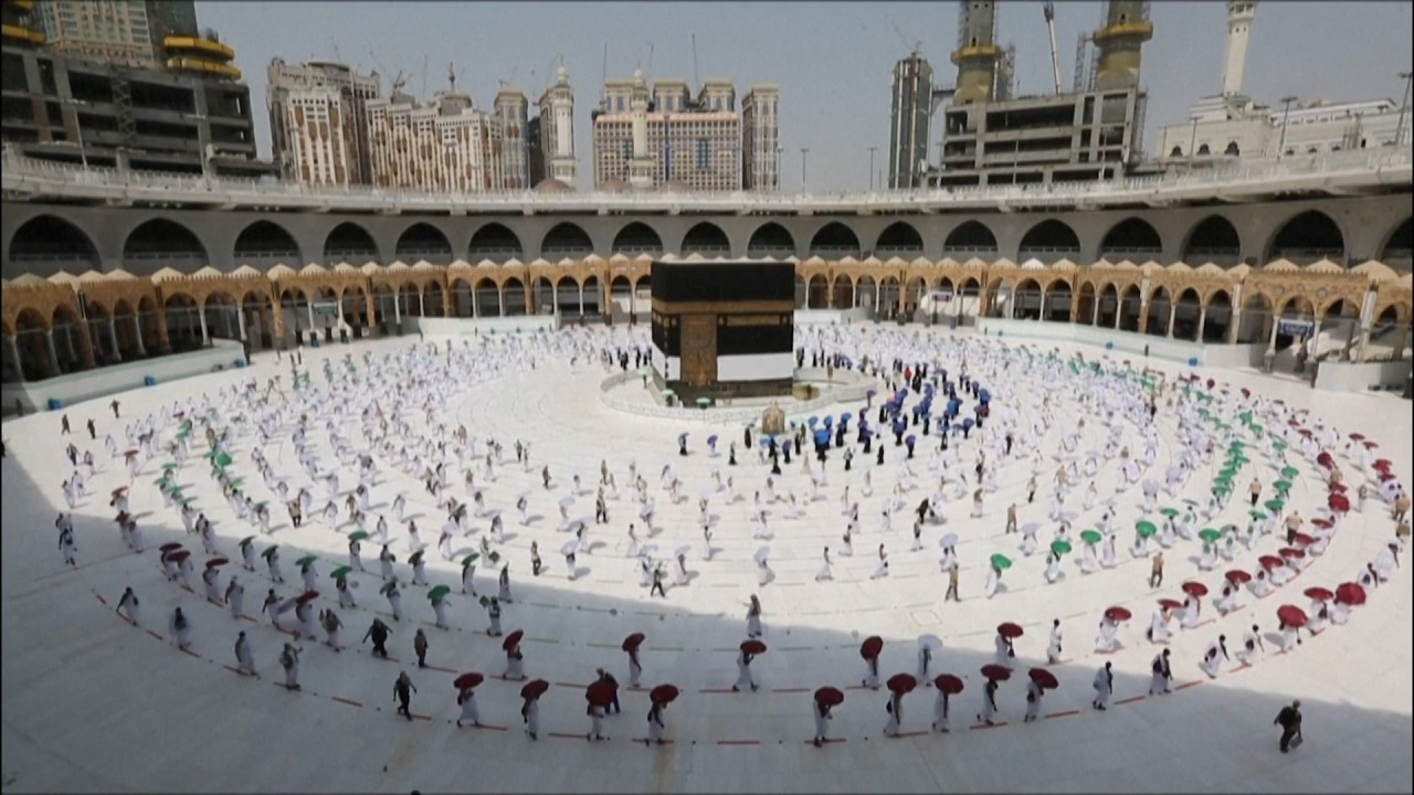 Saudi Arabia limits haj to vaccinated citizens, bars foreign travellers over Covid-19 fears
