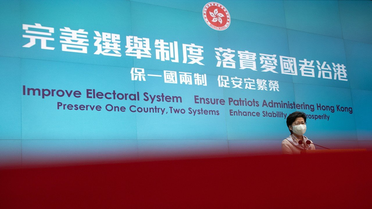 EU drops plans to punish China over Hong Kong electoral reform