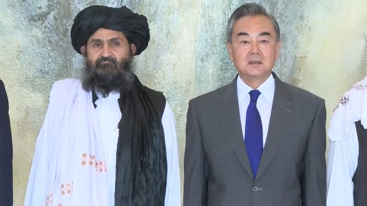 China repeats warning to citizens to leave Afghanistan days after welcoming Taliban for talks