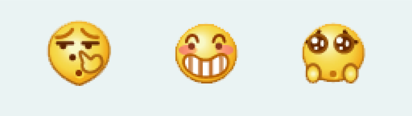In China, the smiley face emoji means something else
