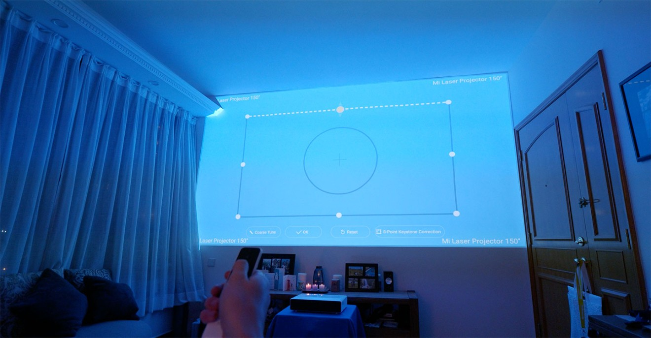 Xiaomi's 150-inch laser projector has amazing sound, but it