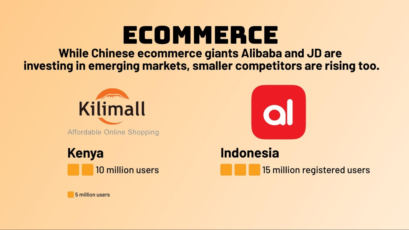 Chinese tech startups are targeting emerging markets to make