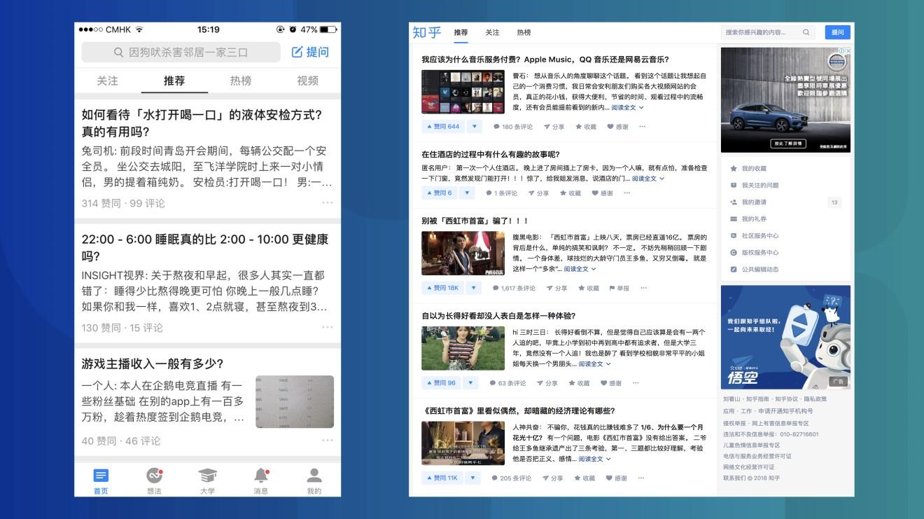 réseaux social Chinois