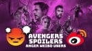 Avengers fans in China angry at Weibo for Endgame spoilers in trending hashtags