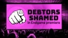 This screening of Avengers: Endgame began with public shaming of local debtors