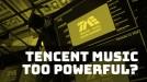 Antitrust authorities are investigating Tencent Music