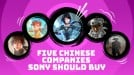 5 Chinese game companies Sony should buy