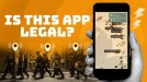 Authorities say a police-tracking app is illegal, but the developer disagrees