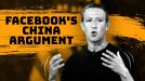 Once courted by Facebook, China has become the company's perfect foil