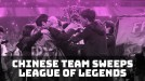 Chinese team sweeps League of Legends tournament, dashing European hopes