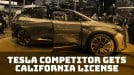 Tesla competitor Byton receives distributor license from California