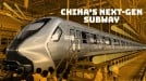 China tests next-gen subway train with touch-panel windows