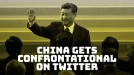 Chinese officials on Twitter adopt confrontational style