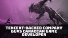 Tencent-backed Sea buys Canadian developer behind Dauntless