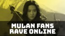 Mulan fans show excitement online after new Super Bowl trailer