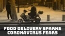 Coronavirus fears have people turning away from food delivery
