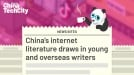 China's internet literature draws in young and overseas writers