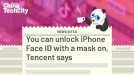 You can unlock iPhone Face ID with a mask on, Tencent says