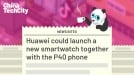 Huawei could launch a new smartwatch together with the P40 phone