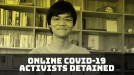 Activists detained in China after sharing coronavirus content on Github