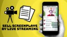 Screenwriters hope selling scripts through live streaming will help the industry recover