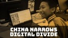 90% of minors in China now have internet access, narrowing the digital divide