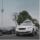 Didi Chuxing shows off autonomous car on public roads