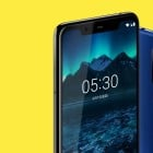 The new Nokia X5 kind of looks like the iPhone X… with a bottom bezel
