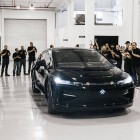 Faraday Future shows off pre-production electric car but delays production