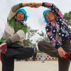 Square dancing and big fonts: How China's elderly use the internet