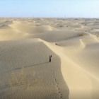Drone rescues man lost in desert in northwest China
