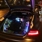 Man turns an Audi S7 into a gaming PC
