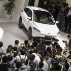 Layoffs, protests and burning cars cloud China's 'Tesla challengers'