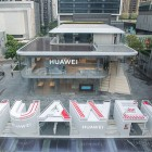 Huawei opens world's first flagship store
