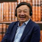 Apple fan (and Huawei CEO) Ren Zhengfei pictured with an iPad