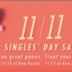 Steam is having a Singles' Day sale